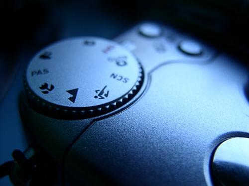 detail fotoaparátu KODAK