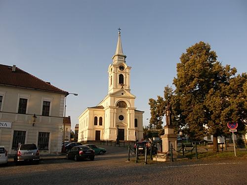 kostel na Březových Horách - léto