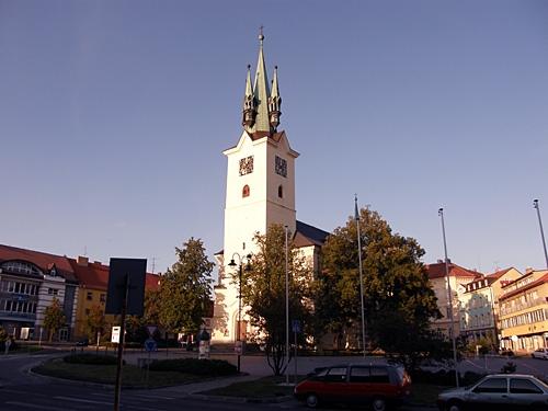příbramský kostel