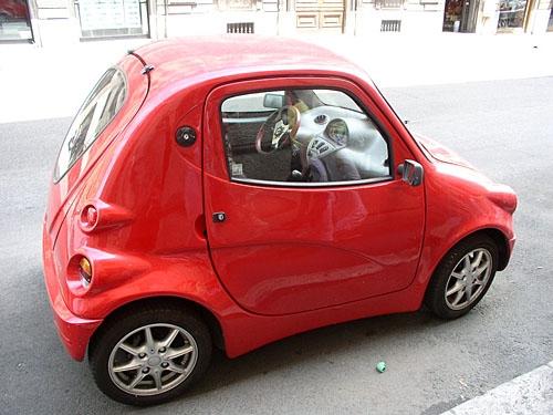 miniauto v Římě