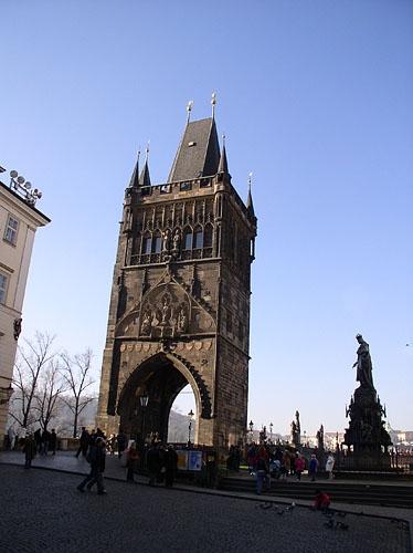 vstupní brána Karlův Most