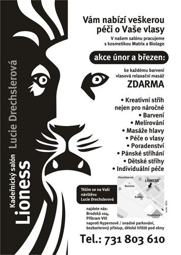 lioness - leták