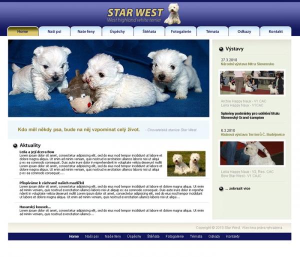 web o westikach