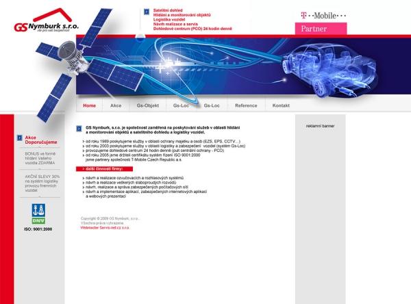 nerealizovaný návrh web prezentace