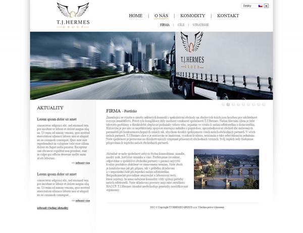 návrh webové prezentace