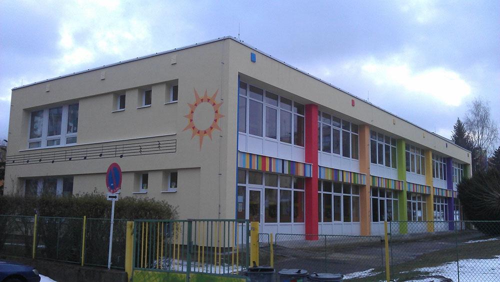 malba fasády Mateřská školka Jana Drdy