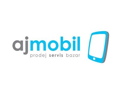 návrh loga AJ MOBIL - nevybráno