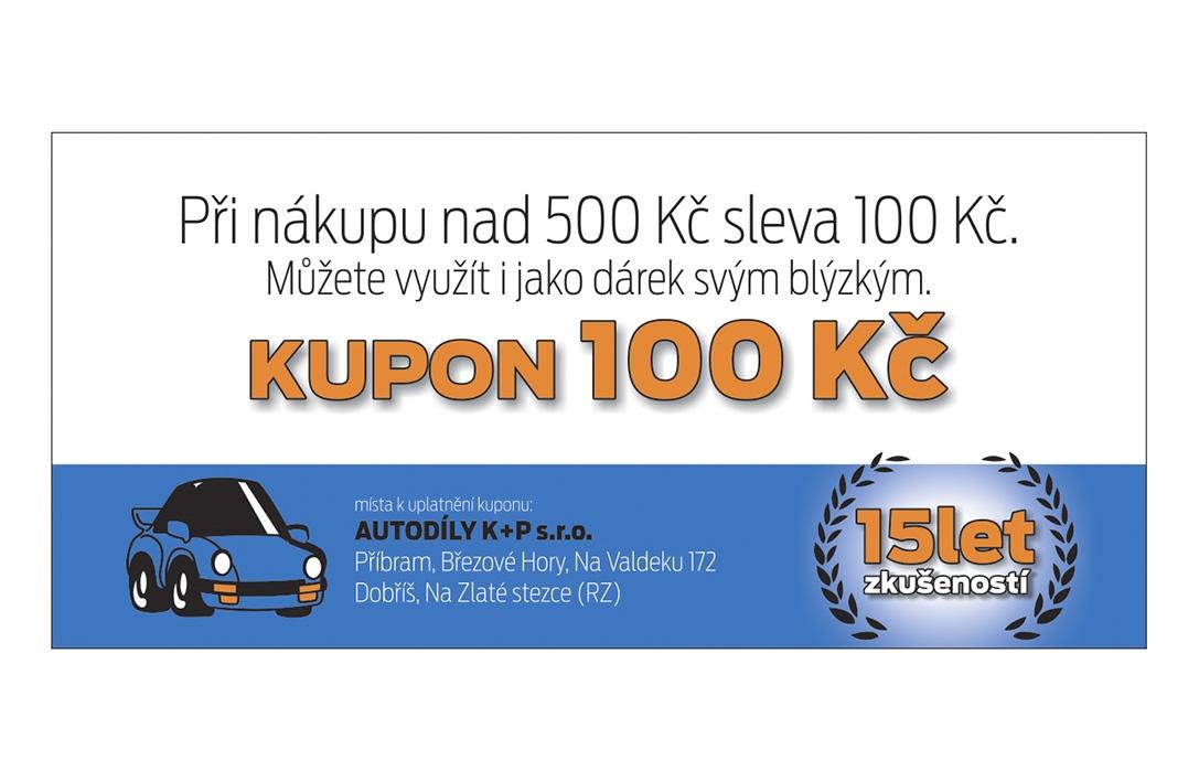 Autodíly K+P - kupon