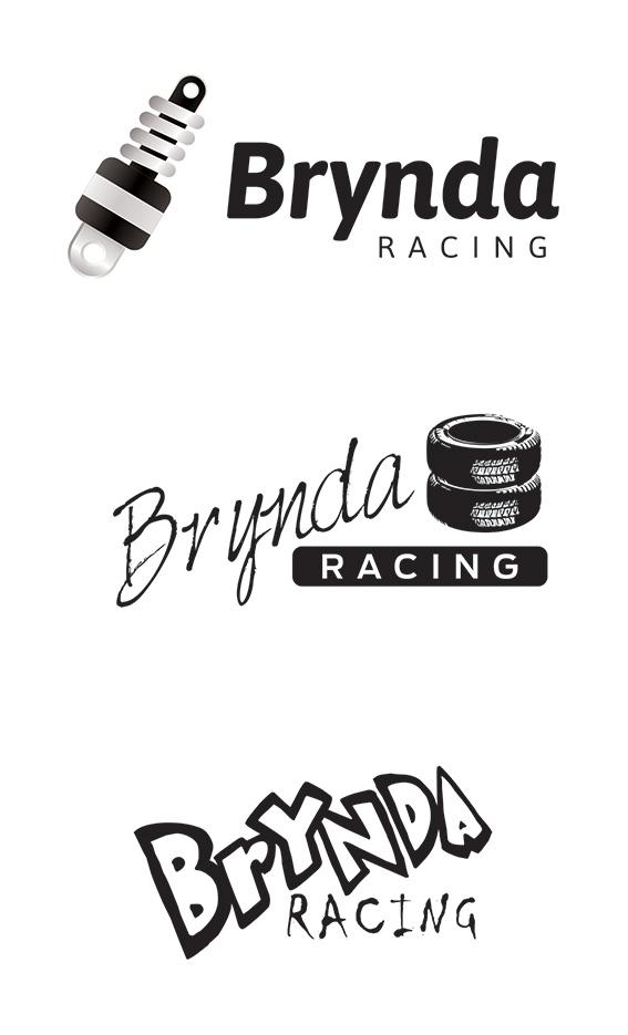 návrh loga - Brynda racing