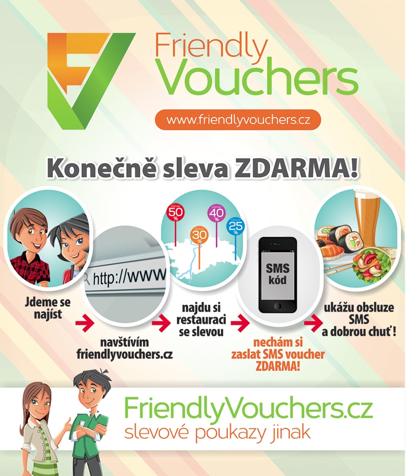 Friendly vouchers - vizuál