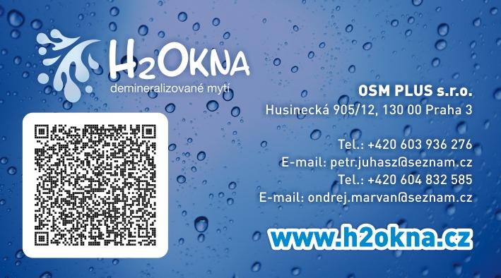 H2Okna - vizitky