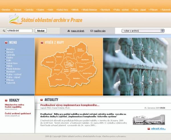 design webu www.soapraha.cz