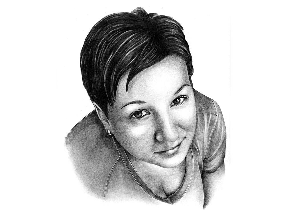portrét mojí ženy